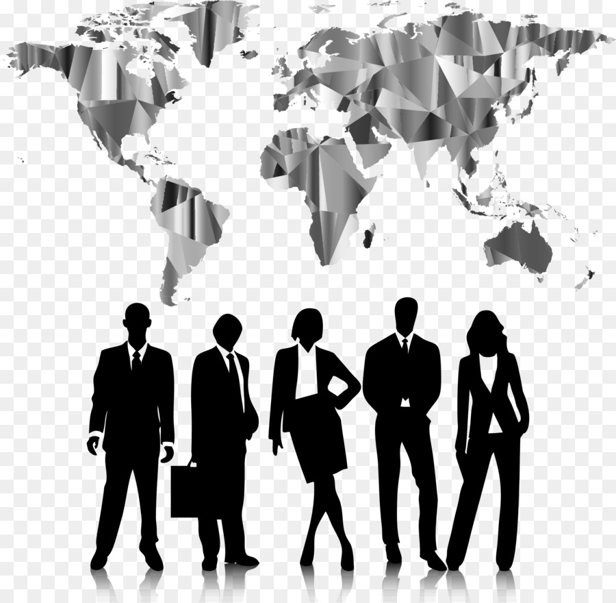 Clipart career fair picture transparent download World Cartoon clipart - Silhouette, Business, Communication ... picture transparent download