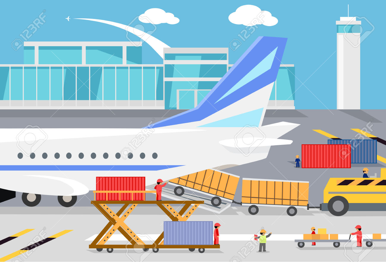 Cargo plane loading clipart svg black and white download Cargo plane loading clipart - ClipartFest svg black and white download