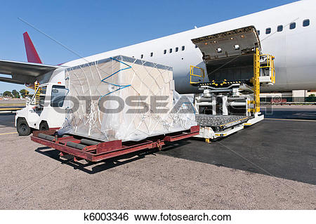 Cargo plane loading clipart freeuse download Stock Images of Loading cargo plane k6003346 - Search Stock ... freeuse download