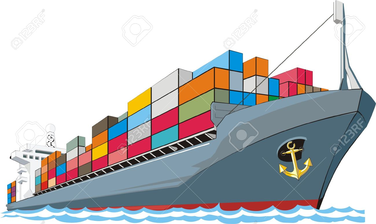 Cargo ship clipart images vector royalty free download Cargo ship clipart 5 » Clipart Station vector royalty free download