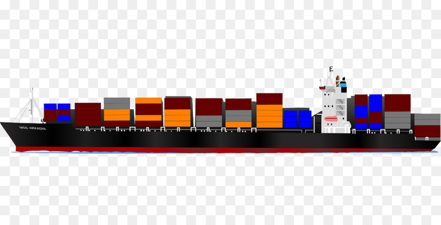 Cargo ship clipart images banner Water Cartoon png download - 1280*640 - Free Transparent Container ... banner