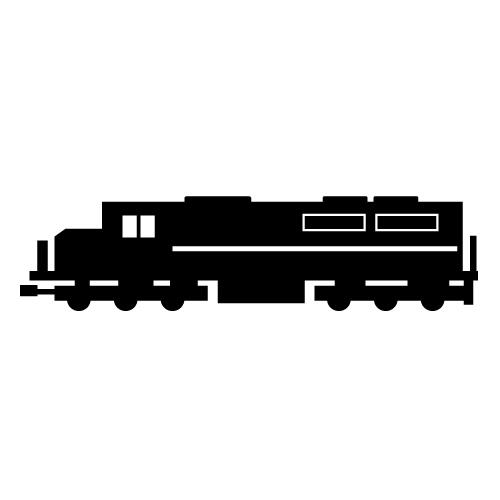 Cargo train clipart image black and white download Cargo Train Clipart - Clip Art Library image black and white download
