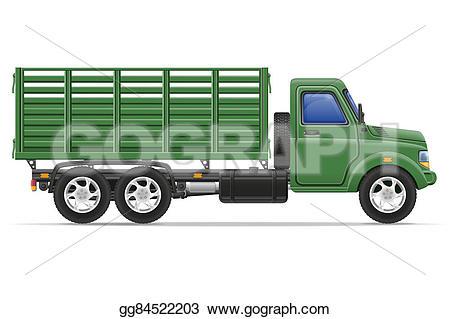 Cargo truck clipart 100 x 100 clip art free Drawing - Cargo truck for transportation of goods illustration ... clip art free