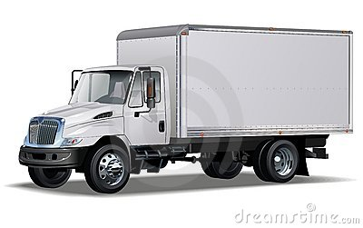 Cargo truck clipart 100 x 100 clip art library Commercial Truck Royalty Free Stock Photo - Image: 21858635 clip art library