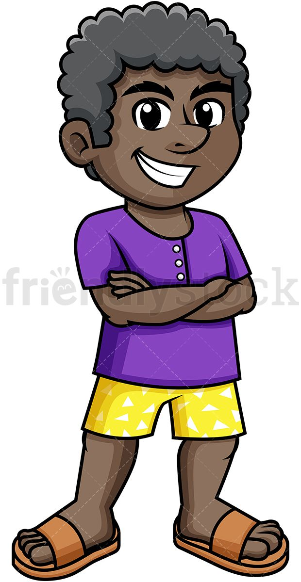 Caricuture eye clipart of african american child clip black and white download Black Man Dressed For Summer | Clip Arts in 2019 | Summer cartoon ... clip black and white download