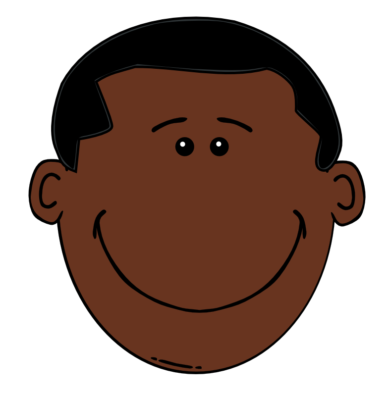 Caricuture eye clipart of african american child jpg royalty free download Free Cartoon Black Boy, Download Free Clip Art, Free Clip Art on ... jpg royalty free download