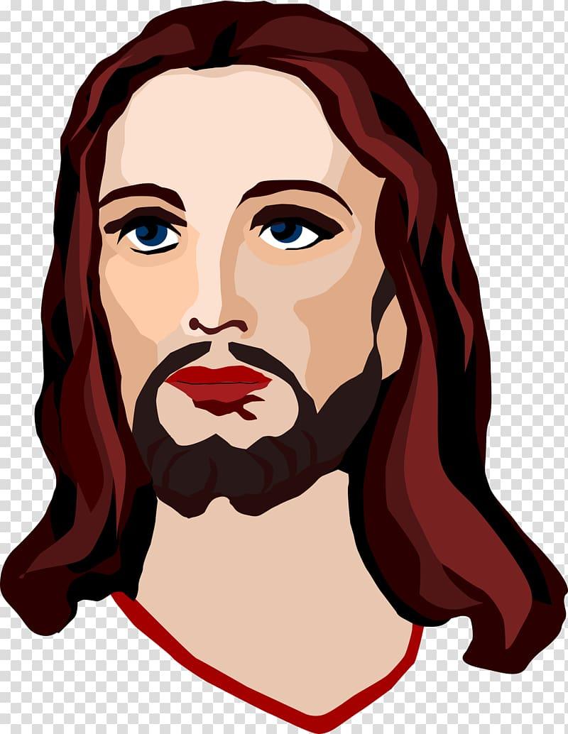 Caring for jesus clipart clip art library download Jesus Christ digital illustration, Depiction of Jesus Christianity ... clip art library download