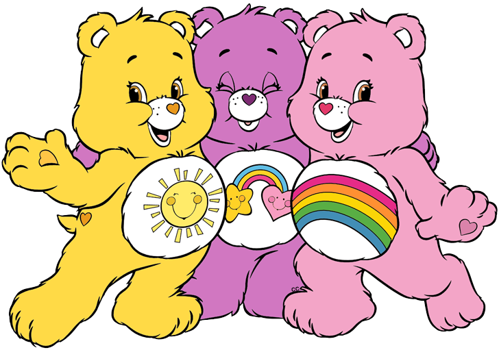 Caring heart clipart banner free download Care Bears and Cousins Clip Art | Cartoon Clip Art banner free download