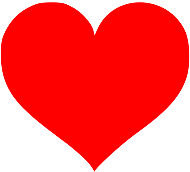 Caring heart clipart png black and white These days, the heart symbol represents love, emotions, and romantic ... png black and white