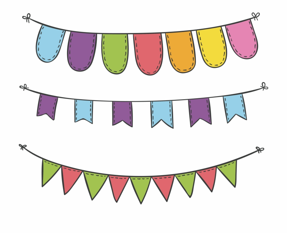 Carnival flags clipart picture black and white stock Svg Royalty Free Download Carnival Vector Flags - Decoration Flag ... picture black and white stock