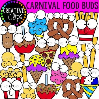 Carnival food field trip clipart jpg free download Carnival Food Clipart Worksheets & Teaching Resources | TpT jpg free download