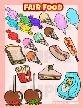 Carnival food field trip clipart free download Carnival Food Clipart Worksheets & Teaching Resources | TpT free download