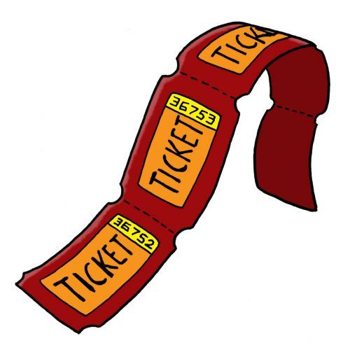 Carnival food field trip clipart svg library stock Carnival Raffle Tickets. Image from the PTO Today Clip Art Gallery ... svg library stock