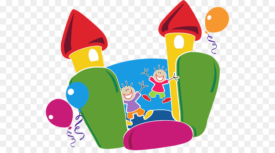 Free bouncy castle clipart clip free Party Hat Cartoon png download - 600*491 - Free Transparent ... clip free