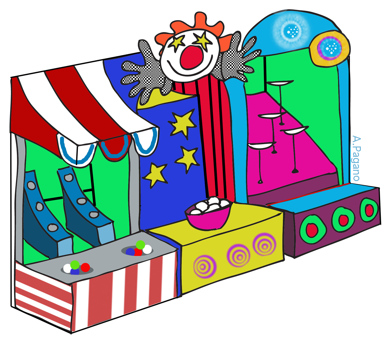 Free carnival games clipart jpg free library Carnival Clipart | Free download best Carnival Clipart on ClipArtMag.com jpg free library