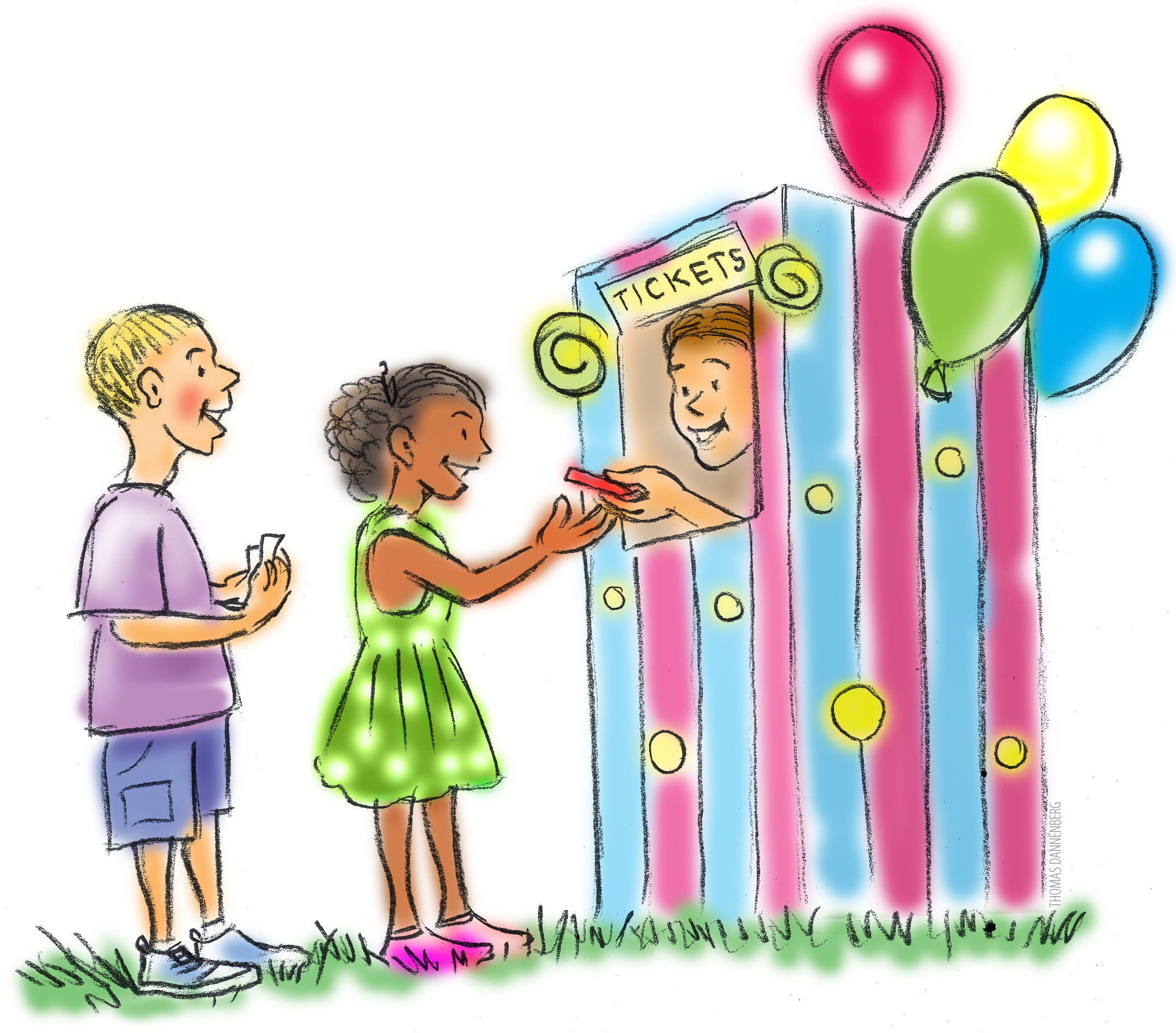 Carnival games kids playing clipart black and white picture freeuse download Carnival Games Clipart Group with 53+ items picture freeuse download
