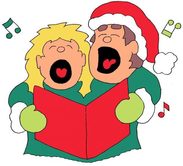 Christmas carol singing clipart image free stock Free Christmas Singers Cliparts, Download Free Clip Art, Free Clip ... image free stock