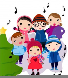 Carol singers clipart free clip black and white stock Free Clipart Of Carol Singers | Free Images at Clker.com - vector ... clip black and white stock