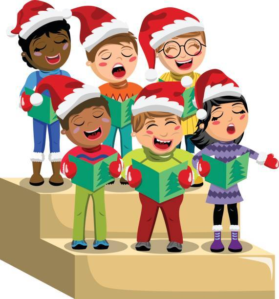 Carol singers clipart free black and white library Free clipart christmas carol singers 4 » Clipart Portal black and white library
