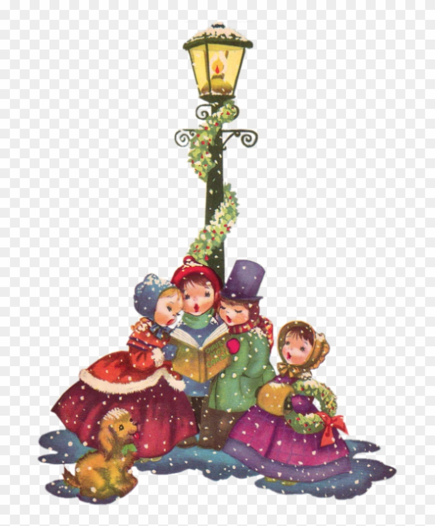 Christmas carol singers clipart free image royalty free library Vintage Christmas Png 14 Cliparts For Free Download - Vintage ... image royalty free library