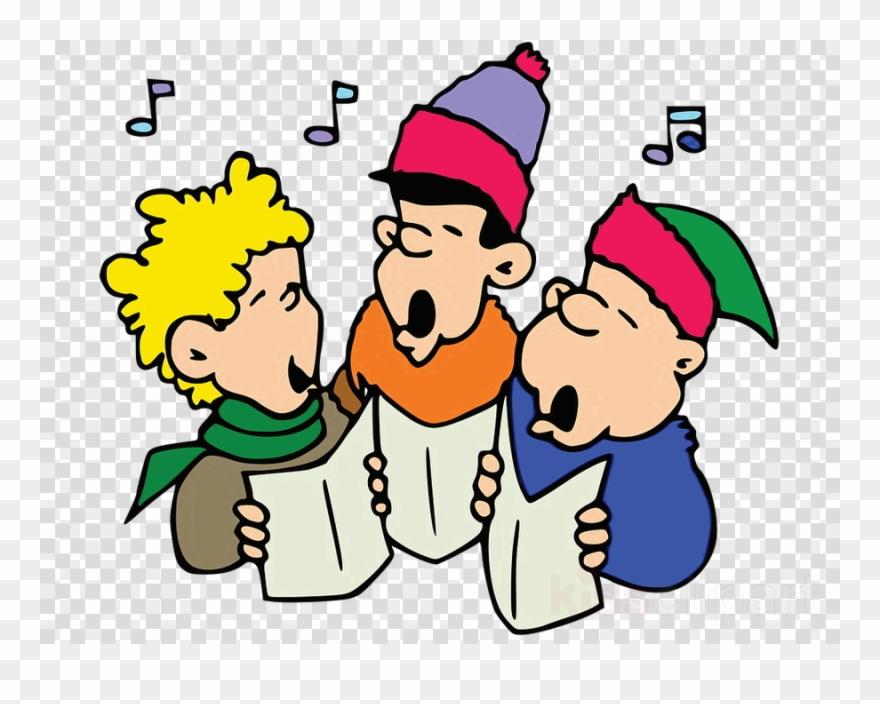 Christmas carol singing clipart graphic library download Caroling For Cans Clipart Christmas Carolers Christmas - Carol ... graphic library download