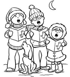 Christmas carollers clipart black and white png free download Free Christmas Cliparts Carolers, Download Free Clip Art, Free Clip ... png free download