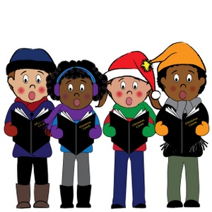 Carolling clipart jpg freeuse People Christmas caroling during the holidayd | Weather Clipart jpg freeuse