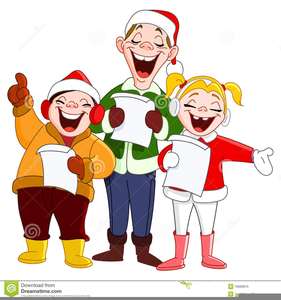 Carolling clipart clipart freeuse stock Free Christmas Carollers Clipart | Free Images at Clker.com - vector ... clipart freeuse stock