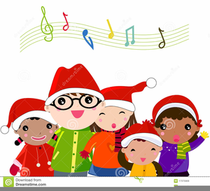 Carolling clipart picture transparent library Kids Caroling Clipart | Free Images at Clker.com - vector clip art ... picture transparent library
