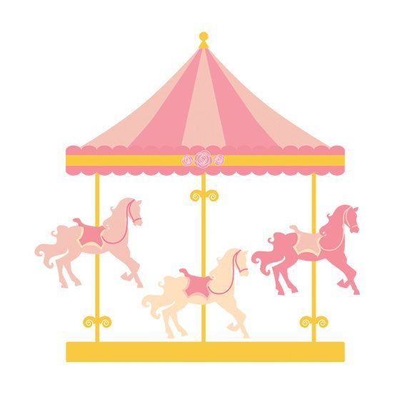 Carrousel clipart jpg freeuse download Carousel Horse Clipart Carousel clipart merry go | DIY | Carousel ... jpg freeuse download