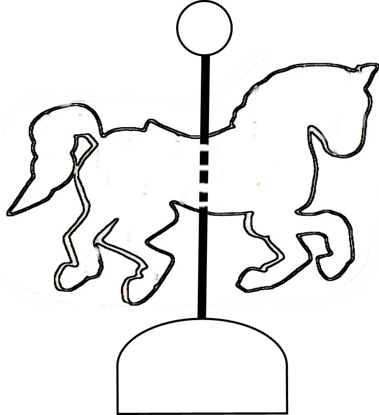 Carousel horse clipart black and white free clipart library Free Carousel Horse Clipart, Download Free Clip Art, Free Clip Art ... clipart library
