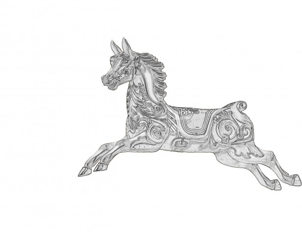 Carousel horse clipart black and white free png transparent download Carousel Horse Clipart Free Stock Photo - Public Domain Pictures png transparent download