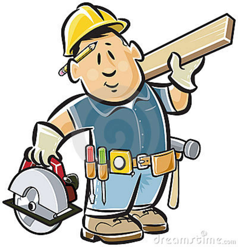 Carpenter clipart free download on WebStockReview banner royalty free stock