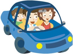 Carpooling clipart black and white Carpooling clipart 3 » Clipart Portal black and white