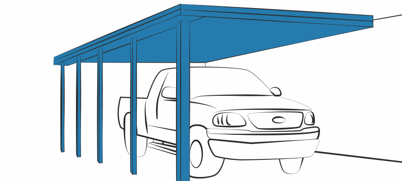 Carports - Clip Art Library clipart freeuse download