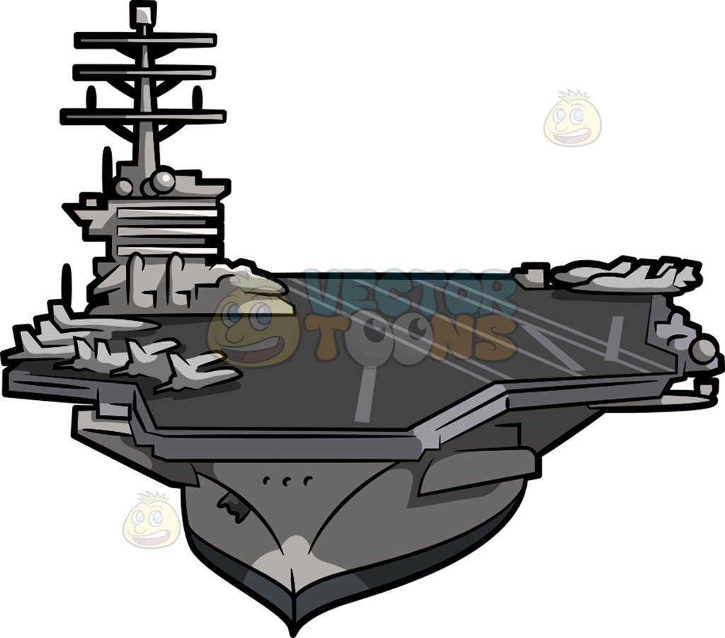 Carrier clipart svg royalty free download A huge aircraft carrier » Clipart Station svg royalty free download