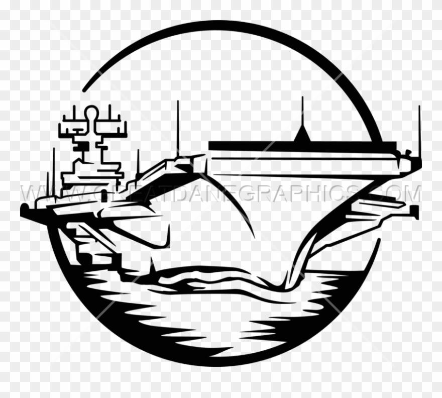 Carrier clipart free Aircraft Carrier Clipart Black And White - Black And White Aircraft ... free