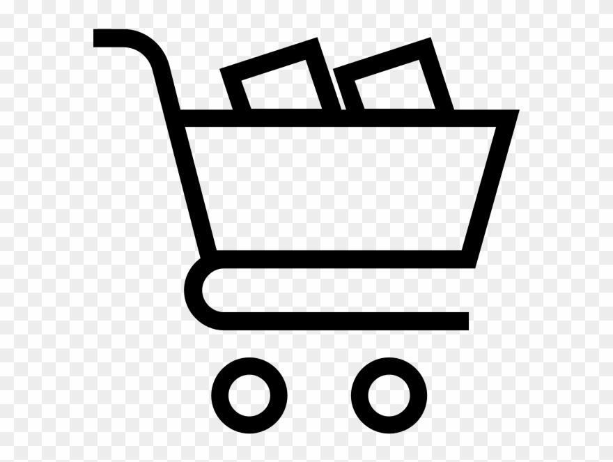 Carrinho de supermercado clipart clipart freeuse download Cart Empty - Carrinho De Compra .png Clipart (#3488379) - PinClipart clipart freeuse download