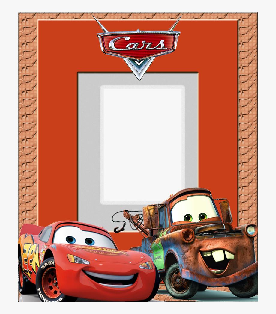 Carros clipart para bebes svg royalty free Download Moldura Carros Png Clipart Disney Infinity - Moldura Para ... svg royalty free