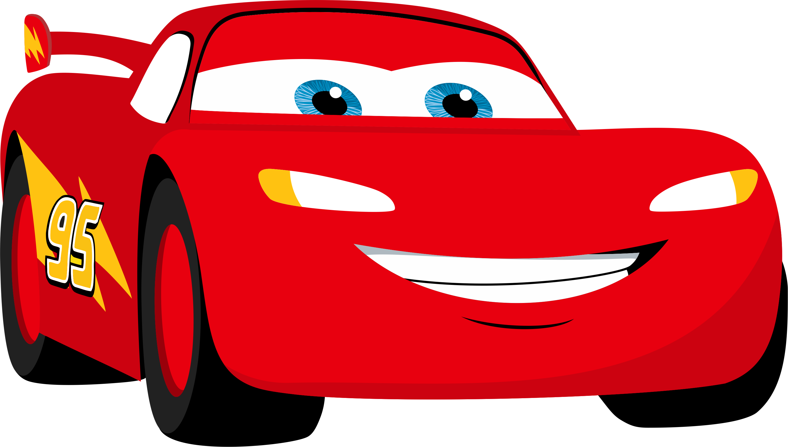 Cars clipart disney clipart black and white download Lightning Mcqueen Clipart | Free download best Lightning Mcqueen ... clipart black and white download
