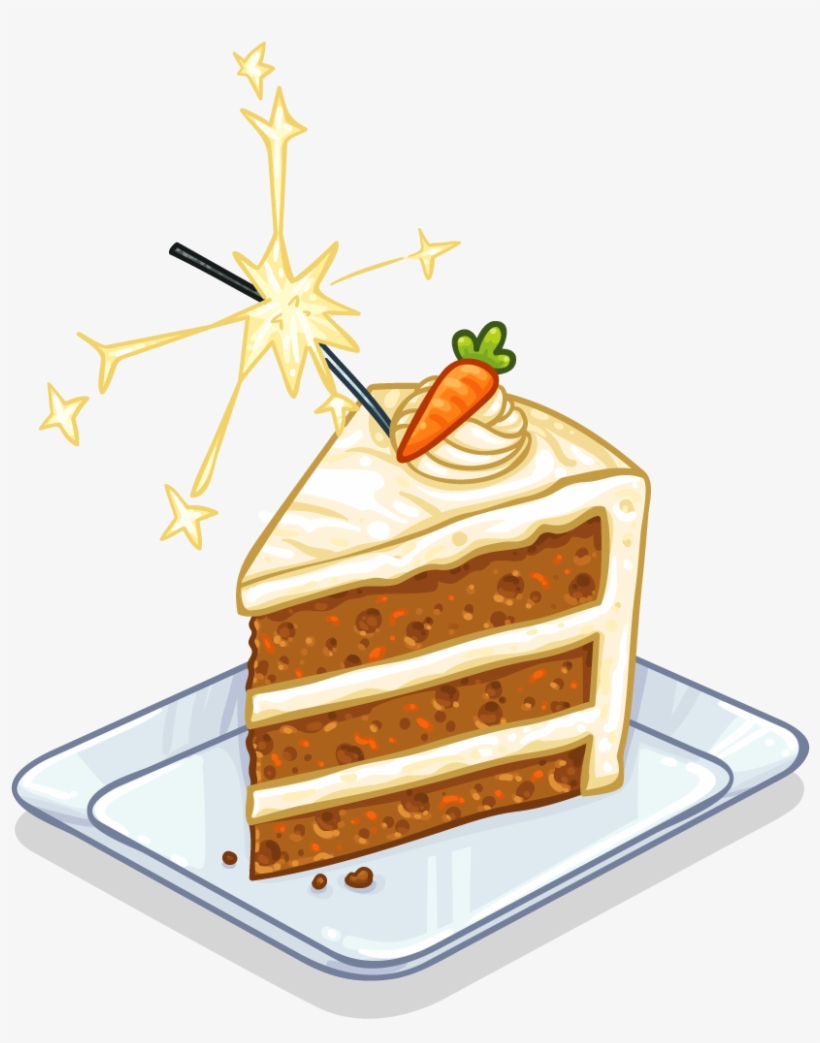 Slice Of Carrot Cake - Carrot Cake Clip Art PNG Image | Transparent ... png stock