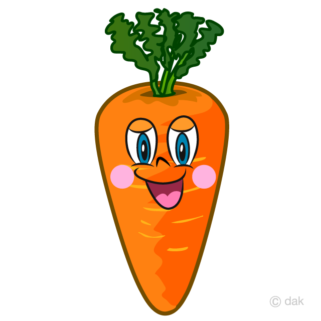 Carrot cartoon clipart banner Carrot Cartoon Free Picture|Illustoon banner