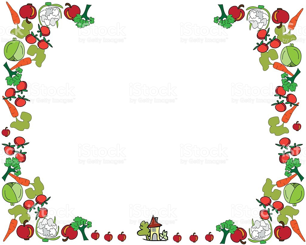 Carrot clipart border png freeuse stock cute vegetable border – Homes Tips png freeuse stock
