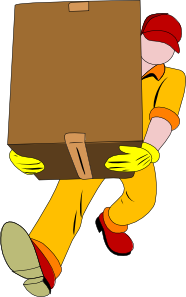 Carrying clipart image library download Carrying Box Clip Art at Clker.com - vector clip art online, royalty ... image library download