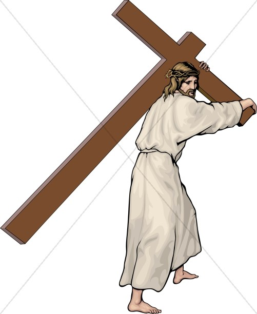 Good Friday Clipart, Good Friday Images - Sharefaith black and white