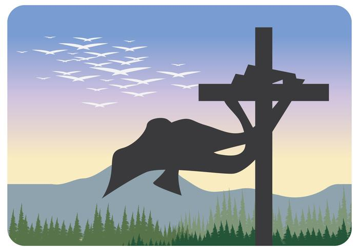 Silhouette of Holy Cross Vector - Download Free Vector Art, Stock ... banner black and white stock