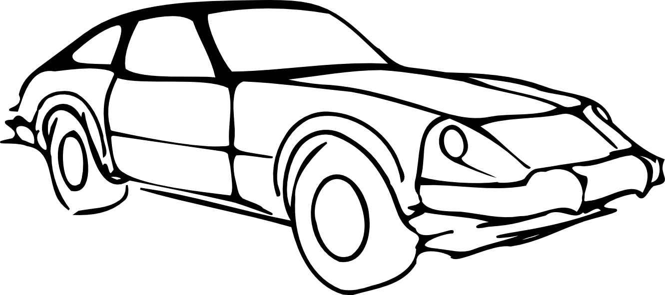 Cars b&w clipart clip art library library Best Car Clipart Black And White #13191 - Clipartion.com clip art library library
