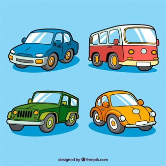 Cars in a row clipart side view jpg free Car Front Vectors, Photos and PSD files | Free Download jpg free