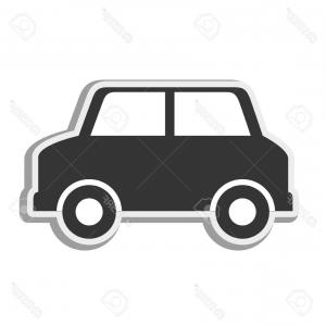 Cars in a row clipart side view vector freeuse Suv White Color Car Back Side Vector | SOIDERGI vector freeuse