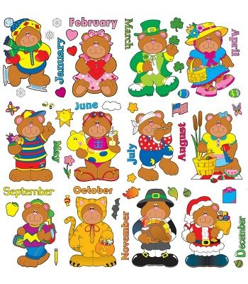Carson dellosa december clipart clipart library library Holiday Bears Bulletin Board Set - Carson Dellosa Publishing ... clipart library library